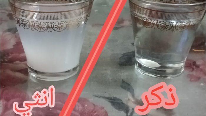 تجربة الحليب لمعرفة نوع الجنين بالصور