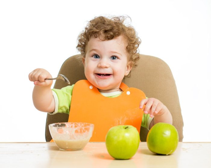 جدول طعام الطفل في الشهر الرابع
