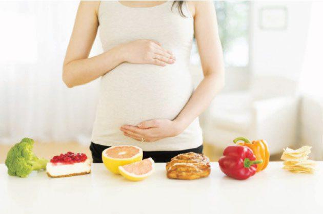 الأكل الصحي للحامل في الشهور الأولى