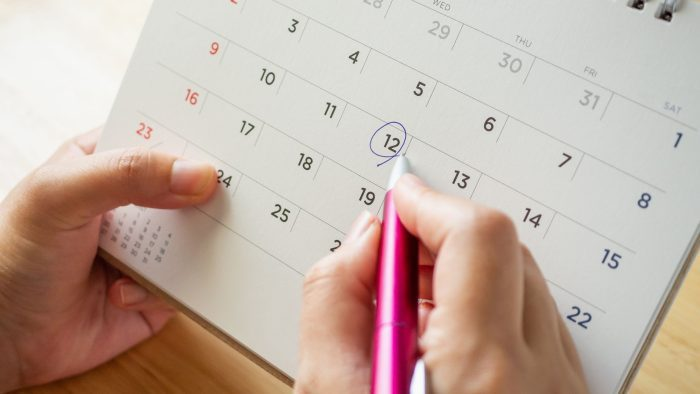 ما هي الأيام التي يحدث فيها الحمل بعد الدورة الشهرية
