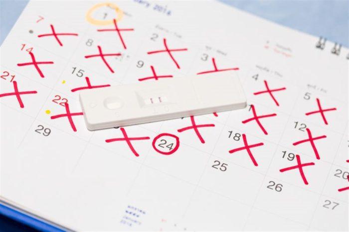 تحديد يوم الإباضة