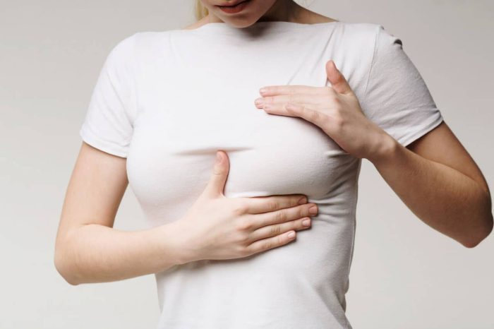علاج كتل الثدي أثناء الرضاعة