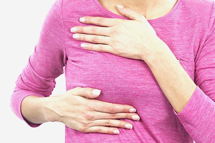 ألم الثدي الأيمن في الكتف