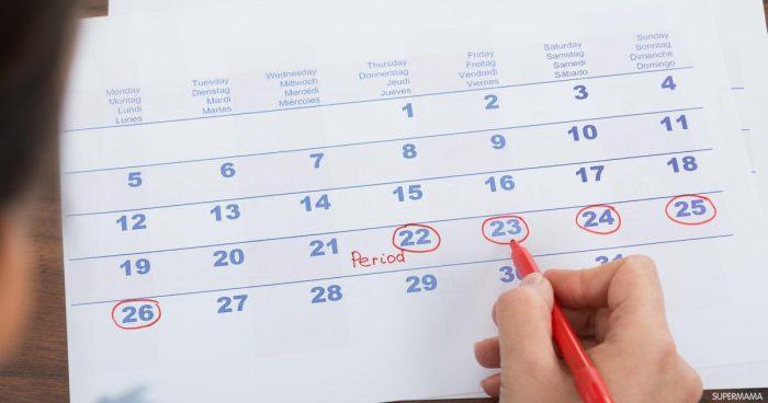 أيام التبويض بعد الدورة الشهرية